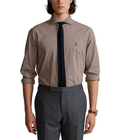 Polo Ralph Lauren Classic-Fit Plaid Twill Long-Sleeve Woven Shirt