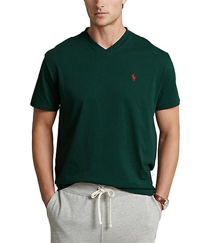 Polo Ralph Lauren Classic-Fit Short-Sleeve V-Neck Tee