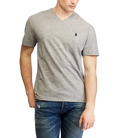 Polo Ralph Lauren Classic-Fit Short-Sleeve V-Neck Tee 7f1df8ea7fc