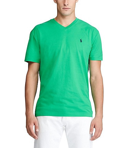 Polo Ralph Lauren Classic-Fit Short-Sleeve V-Neck Tee