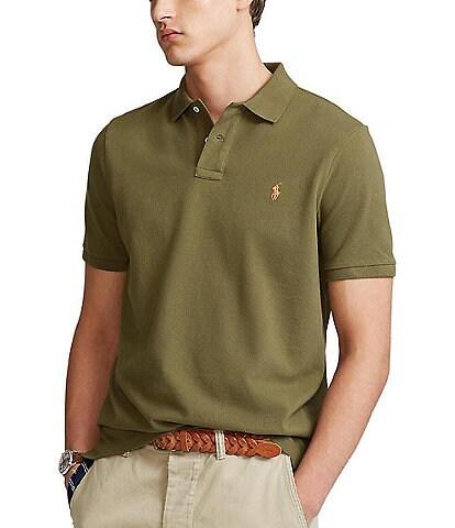 Polo Ralph Lauren Green Men's Shirts   Dillard's