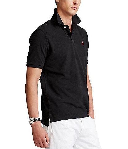 Polo Ralph Lauren Black Men's Casual Polo Shirts | Dillard's