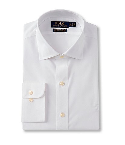 Polo Ralph Lauren Classic Fit Spread Collar Solid Dress Shirt