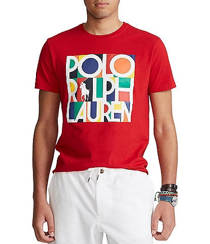 Polo Ralph Lauren Classic-Fit Stack Logo Short-Sleeve Tee
