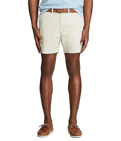 Polo Ralph Lauren Classic-Fit Stretch Chino 6#double; Inseam Shorts