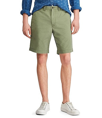 Polo Ralph Lauren Classic-Fit Stretch 9 1/4#double; Inseam Twill Shorts