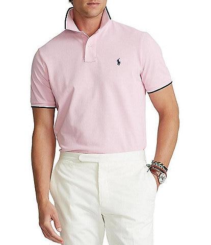 Polo Ralph Lauren Classic-Fit Tipped Mesh Short-Sleeve Polo Shirt