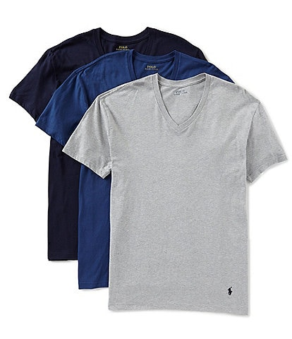 Polo Ralph Lauren Classic Fit V-Neck Assorted 3-Pack