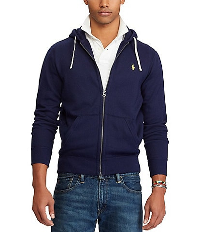 Polo Ralph Lauren Classic Solid Fleece Hoodie Jacket