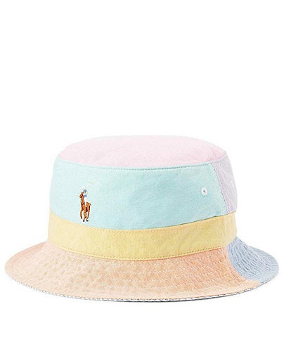 Polo Ralph Lauren Color Block Oxford Bucket Hat