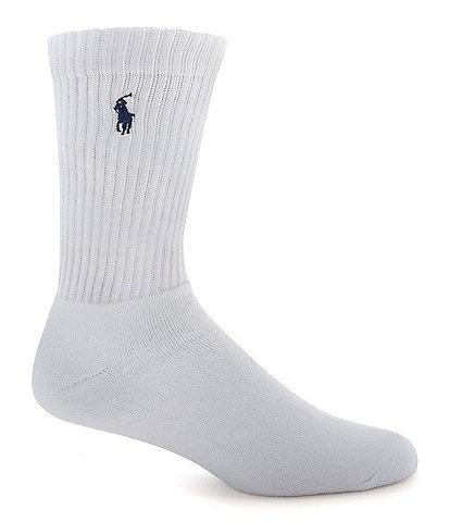 Polo Ralph Lauren Cotton-Blend Crew Socks 3-Pack