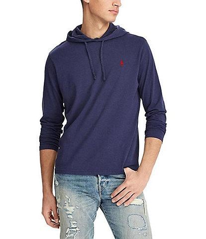 Polo Ralph Lauren Cotton Jersey Long-Sleeve Hoodie Tee