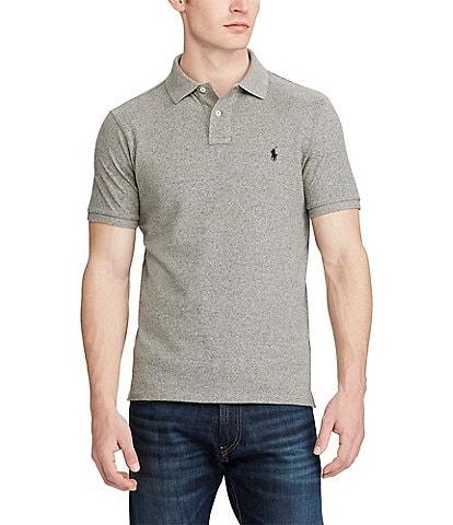 Polo Ralph Lauren Custom-Slim Fit Solid Mesh Polo Shirt