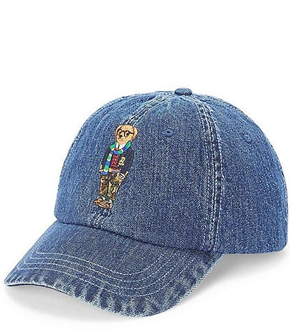 Polo Ralph Lauren Denim Bear Chino Cap