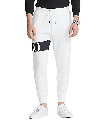 Polo Ralph Lauren Double-Knit Graphic Jogger Pants