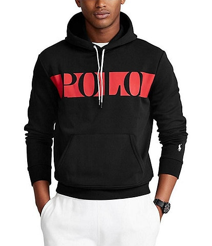Polo Ralph Lauren Double-Knit Graphic Long-Sleeve Hoodie