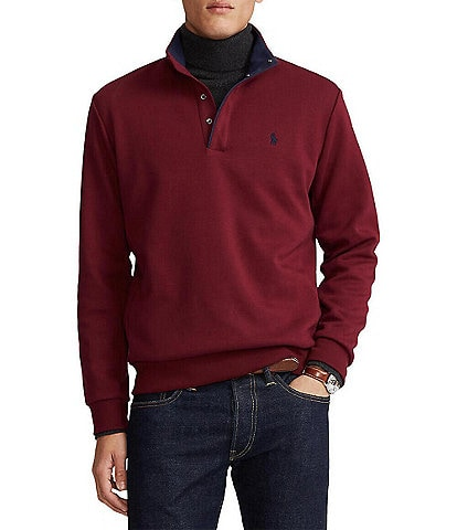 Polo Ralph Lauren Double-Knit Tech Mockneck Pullover