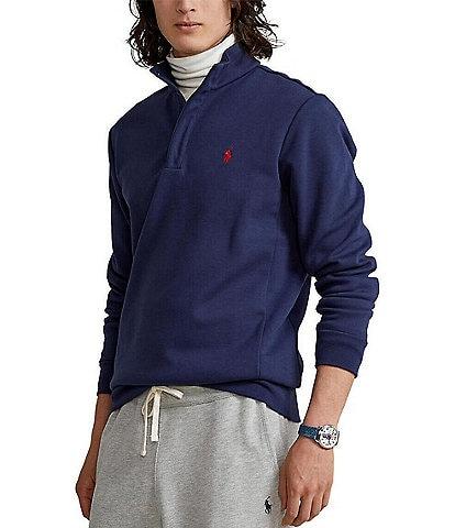 Polo Ralph Lauren Double-Knit Tech Mockneck Pullover