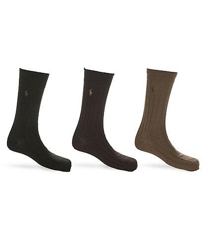 Polo Ralph Lauren Dress Socks 3-Pack