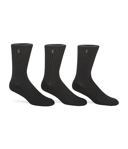 Polo Ralph Lauren Micro-Cushioning Dress Socks 3-Pack