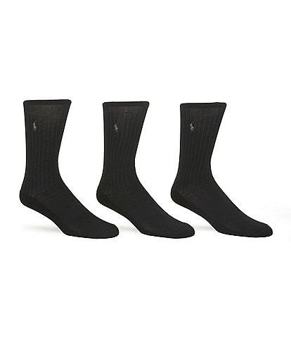 Polo Ralph Lauren Micro-Cushioning Dress Socks 3-Pack