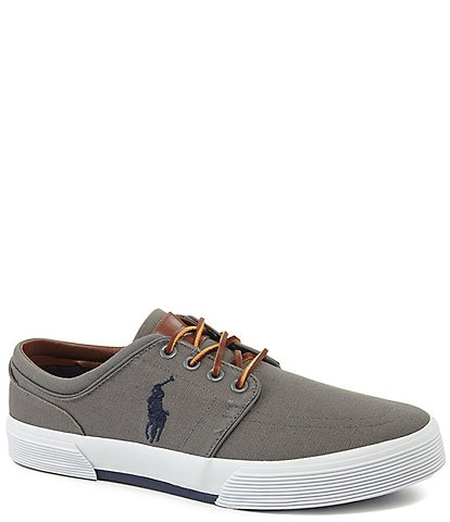 Polo Ralph Lauren Men's Faxon Canvas Sneakers
