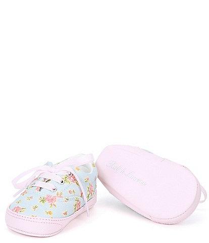 Polo Ralph Lauren Floral Bryn Sneakers (Infant)