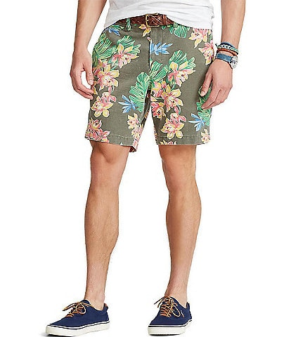 Polo Ralph Lauren Floral Twill 8#double; Inseam Shorts