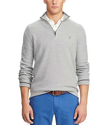 Polo Ralph Lauren Textured Half-Zip Sweater