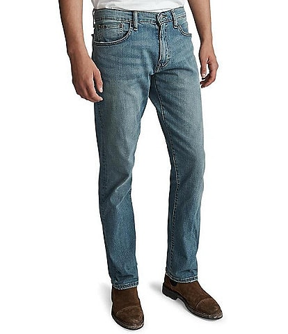 Polo Ralph Lauren Hampton Relaxed Straight-Fit Stretch Denim Jeans