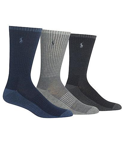 Polo Ralph Lauren Heather Crew Socks 3-Pack