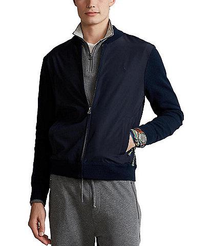Polo Ralph Lauren Hybrid Full-Zip Sweater