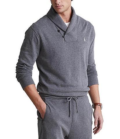 Polo Ralph Lauren Luxury Jersey Shawl Pullover