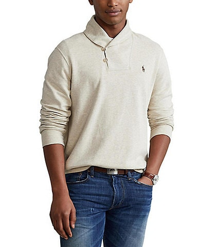 Polo Ralph Lauren Interlock Shawl Pullover