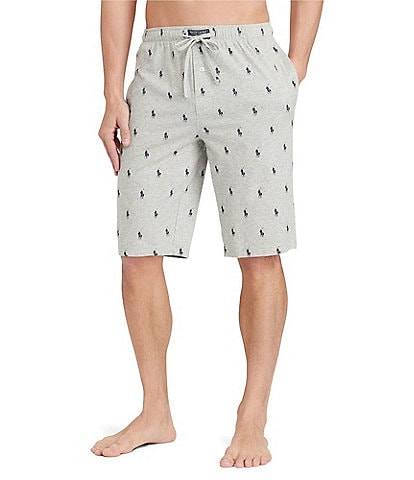 Polo Ralph Lauren Logo Jersey Pajama Shorts