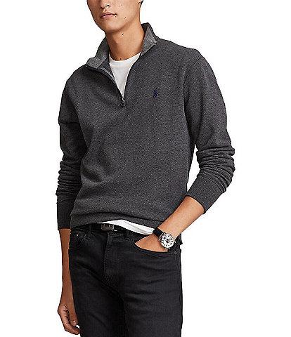 Polo Ralph Lauren Jersey Quarter-Zip Pullover