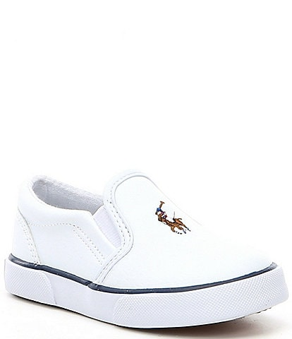 caa5c7b57e0 Polo Ralph Lauren Kid's Bal Harbour Slip-On Sneakers