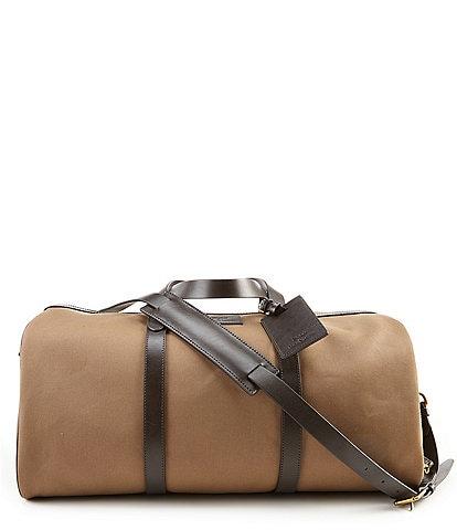 Polo Ralph Lauren Leather-Trim Canvas Duffel