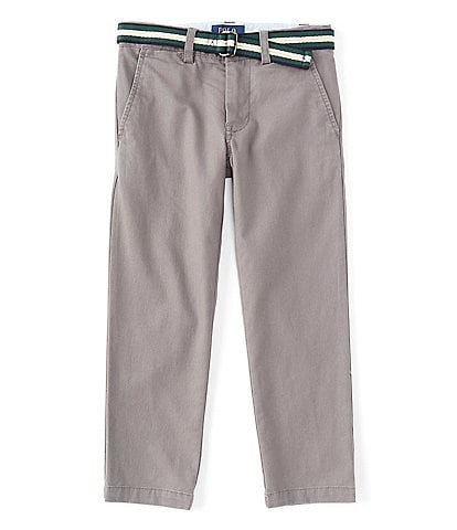 Polo Ralph Lauren Little Boys 2T-7 Belted Slim-Fit Stretch Twill Chino Pants