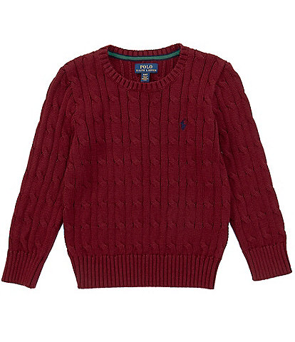 Polo Ralph Lauren Little Boys 2T-7 Cable-Knit Sweater