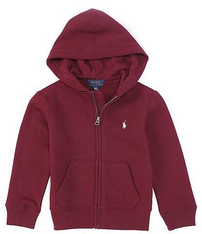 Polo Ralph Lauren Little Boys 2T-7 Collegiate Fleece Zip-Up Hoodie
