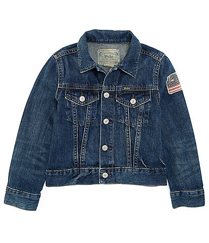 Polo Ralph Lauren Little Boys 2T-7 Denim Trucker Jacket