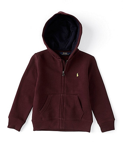 Polo Ralph Lauren Little Boys 2T-7 Fleece Full Zip Hoodie
