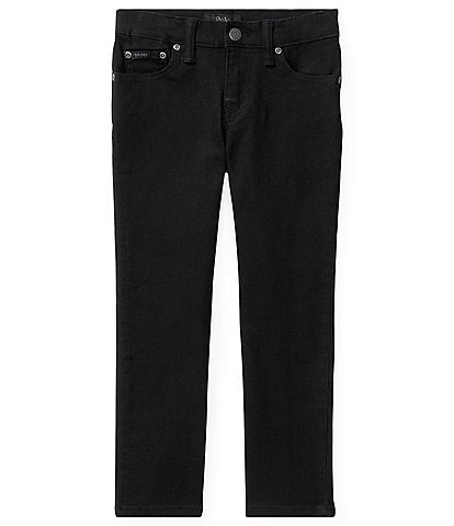 Polo Ralph Lauren Little Boys 2T-7 Hampton Classic Straight Black Denim Jeans