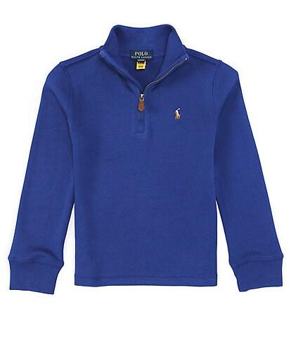 Polo Ralph Lauren Little Boys 2T-7 Interlock Quarter-Zip Pullover