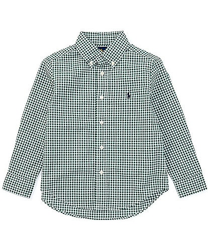 Polo Ralph Lauren Little Boys 2T-7 Long-Sleeve Seasonal Gingham Poplin Shirt