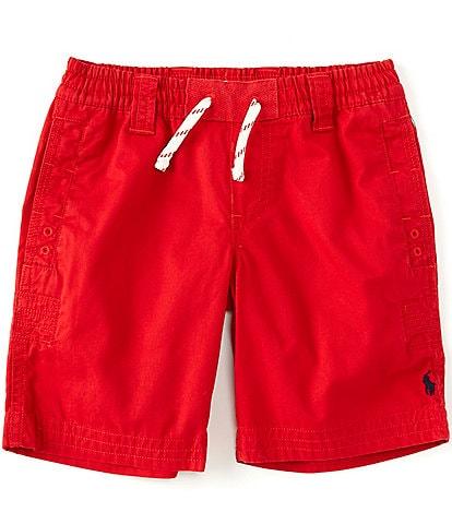 Polo Ralph Lauren Little Boys 2T-7 Parachute Twill Rugby Shorts