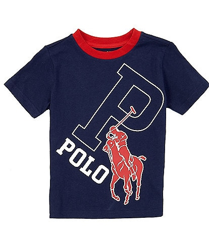 Polo Ralph Lauren Little Boys 2T-7 Short-Sleeve Big Pony Graphic Tee