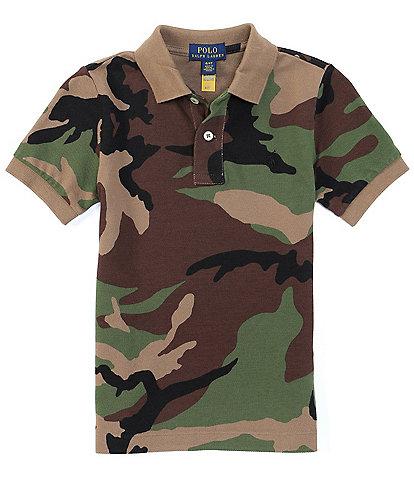 Polo Ralph Lauren Little Boys 2T-7 Short-Sleeve Camo Polo Shirt
