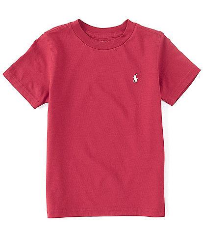Polo Ralph Lauren Little Boys 2T-7 Short-Sleeve Collegiate Essential Tee